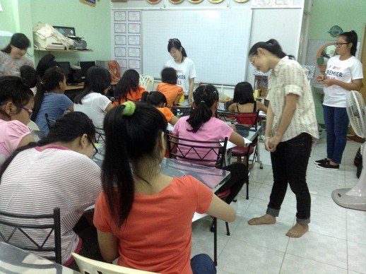 English lessons in KIDS house