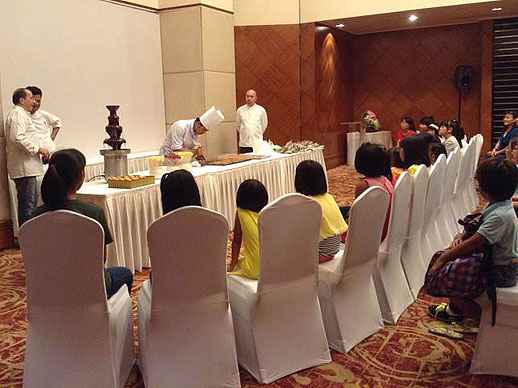 Chocolate workshop Sofitel Saigon